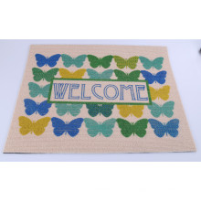Mais Popular Impresso Anti-Slip Door Mat